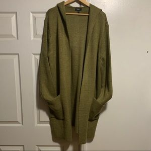 Forever 21 Men's XL Knit Shawl Cardigan with Hood
